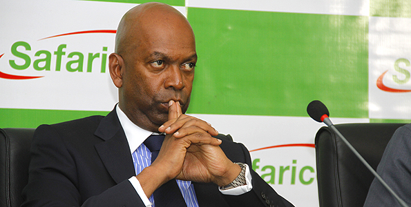Safaricom CEO, Bob Collymore. Safaricom has been named the 'African Mobile Operator of the Year' in the annual CommsMEA Awards for 2016.