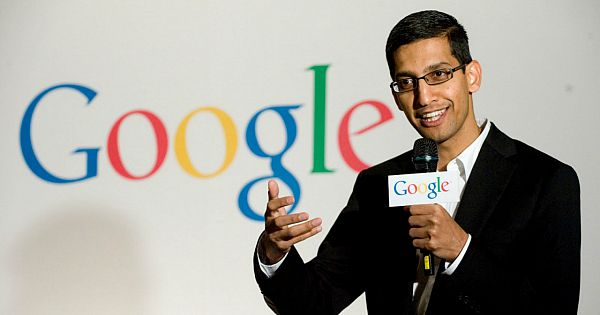 Sundar Pichai CEO of Google.