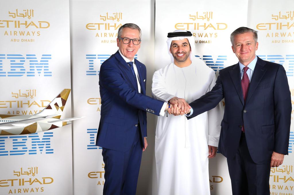 Etihad Airways - IBM Agreement Photo