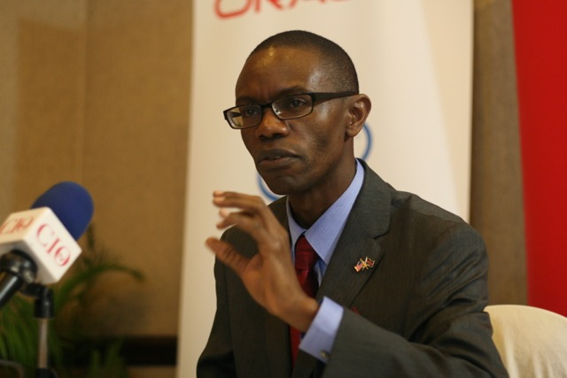 Dr. Gilbert Saggia, Oracle Kenya country manager