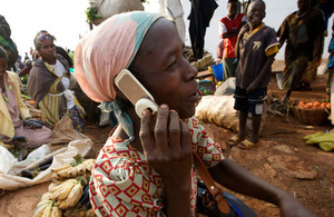 Mobile technology empowering underserved communities in developing countries. Picture: GSMA