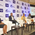 Panelists in a discussion during the official launch of the 5th annual Tigo Digital Changemakers' award in Dar es Salaam on 18th October 2016