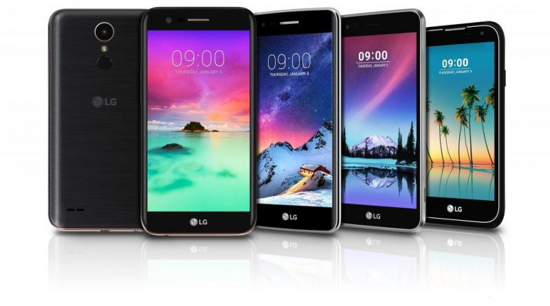 LG's Mass-Tier smartphone Offerings for 2017 to be unveiled at #CES
