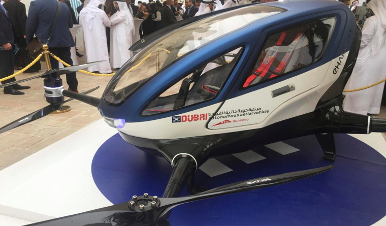 Dubai becomes the first city to have driverless electric powered flying taxis