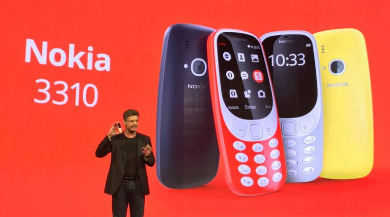 MWC2017: The Nokia 3310 is here, complete with a colour screen and Internet access