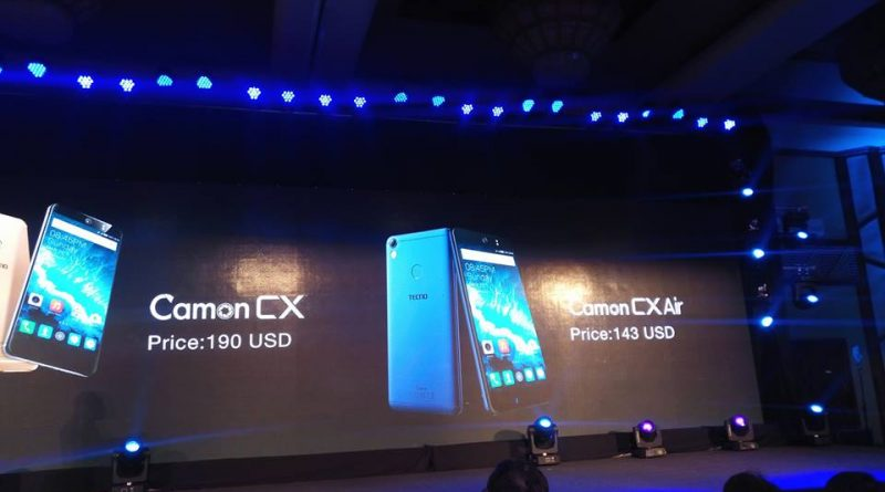TECNO unveils the Camon CX, its best ever selfie Camera Smartphone