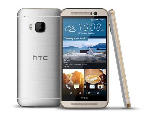 A photo of the HTC One M9