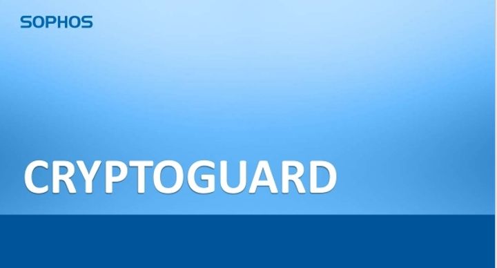 Sophos Server Protection products now optimized with CryptoGuard Technology