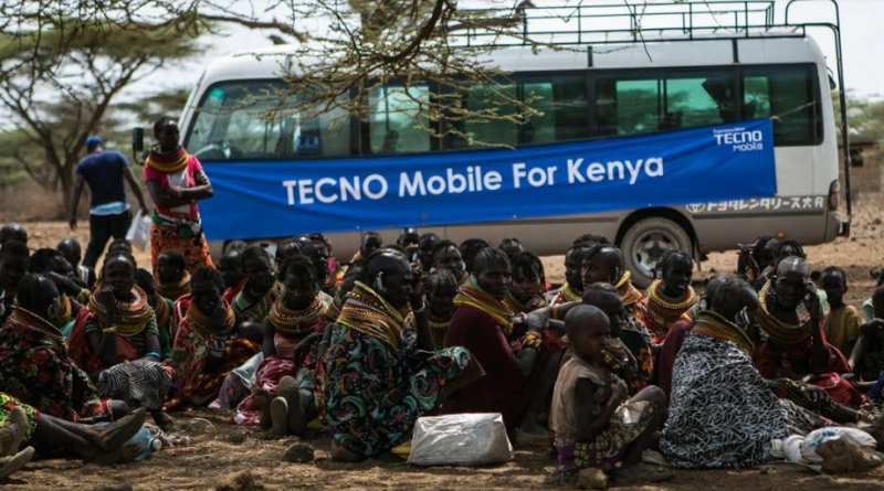 TECNO Mobile donates food to drought-stricken communities in Isiolo County