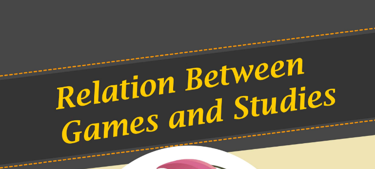 Infographic : Relation between games and education