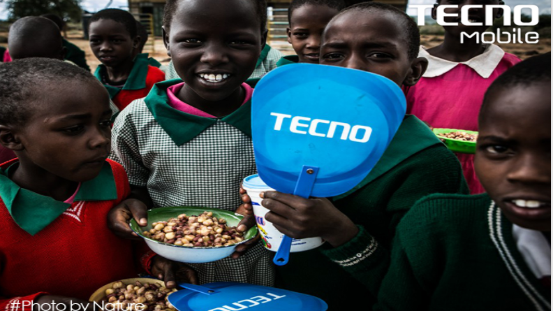 TECNO Mobile donates Ksh. 2 Million to a school feeding program in Kajiado County