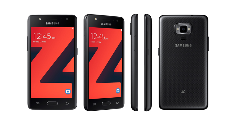 Samsung launches the Z4 Tizen 3.0-Powered Smartphone With 4.5-Inch Display .