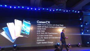 Camon-CX-Specs