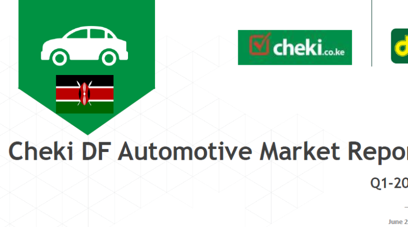 Report: Toyota cars still popular among Kenyans as automotive market prices go down in Q1-2017