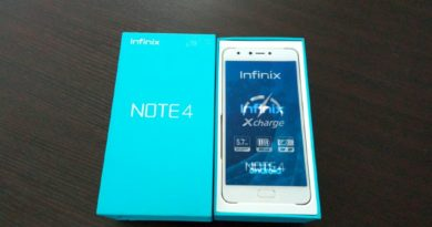 Infinix Note 4 Unboxing and First Impressions
