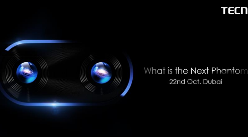 The Tecno Phantom 8 is launching on 22nd October