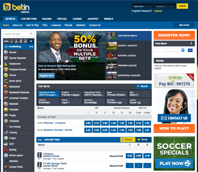 Sportsbooks Available