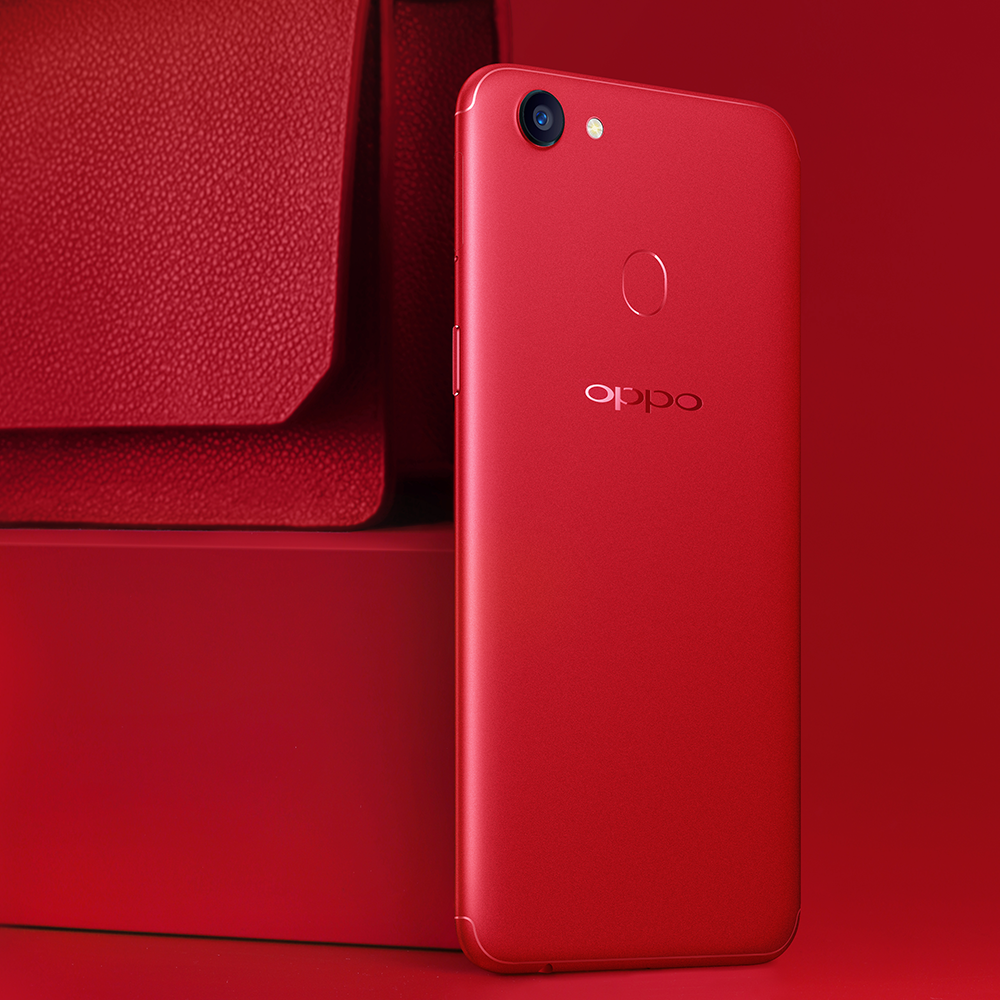 Oppo Launches Oppo F5 6gb Christmas Red Edition