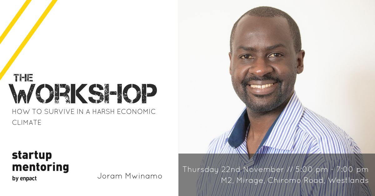 Workshop // How to survive in a harsh economic climate @ Nairobi Garage // Westlands  Mirage M2  Chiromo Road